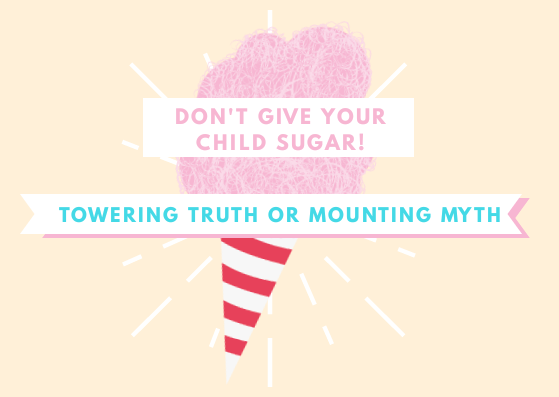 Sugar makes your child hyperactive? Oh, Really?